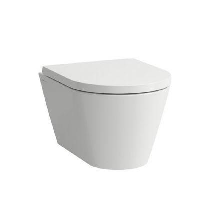 820333 - Laufen Kartell Compact Wall Hung Rimless WC / Toilet Pan For Concealed Cisterns - 8.2033.3